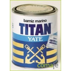 BARNIZ ALQUIDICO BRILLANTE MARINO TITAN YATE 750ML 045000734 - Imagen 1