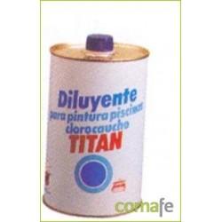 DILUYENTE PINTURA PISCINAS 1 LT - Imagen 1