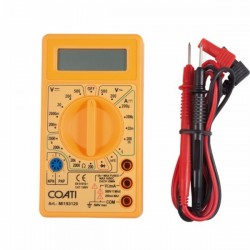 MULTIMETRO ELEC ELECTRONICO LCD CAT I CO - Imagen 1