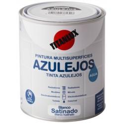 ESMALTE AL AGUA SAT. 750 ML BL AZULE. TI - Imagen 1