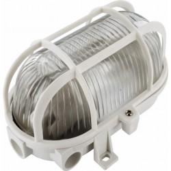 APLIQUE ILUMIN OV EXT E27 60W PVC BL REJ - Imagen 1