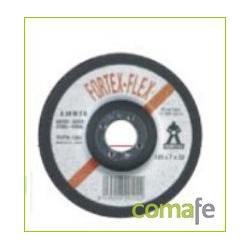 DISCO DESBASTE METAL ABRAMATIC 125X7X22 A24M7B-125 - Imagen 1