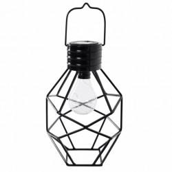 LAMPARA ILUMIN SOLAR 20X17X30CM ACERO LD - Imagen 1