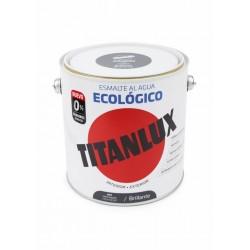 ESMALTE ACRIL BRI. 2,5 LT GR/MED AL AGUA ECOLOGICO TITANLUX - Imagen 1