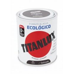 ESMALTE ACRIL SAT. 750 ML TABA AL AGUA ECOLOGICO TITANLUX - Imagen 1