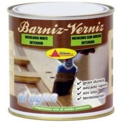 BARNIZ MAD MATE 375 ML INC. INT. AGUA PROMADE - Imagen 1