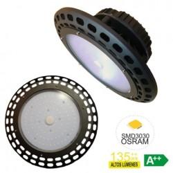 CAMPANA ILUMIN 150W 20.250LM LED RSR ALU 5700K-NEGRO SMD3030 - Imagen 1
