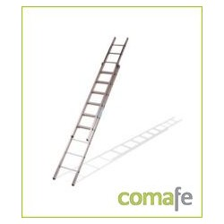 ESCALERA DOBLE EXTENSION MANUAL 6X2 2,87 METROS - Imagen 1