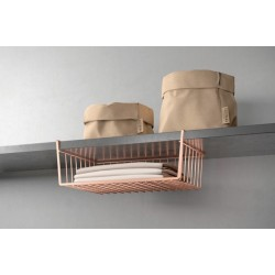 ESTANTE COC 40X26X14CM IN. KANGURO COPPER METALTEX - Imagen 1