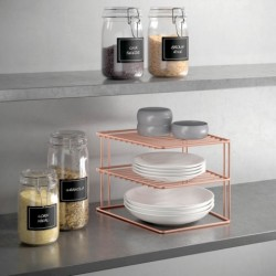 ESTANTE COC RINCONERA 25X25X19CM IN. PALIO COPPER METALTEX - Imagen 1