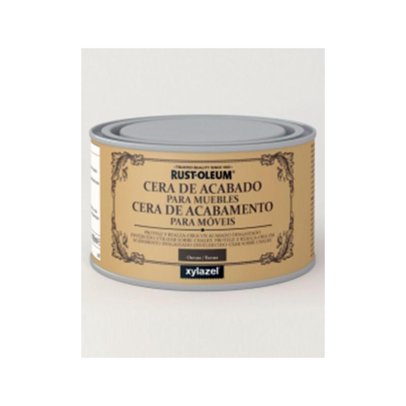 CERA ACABADO PARA MUEBLES 400 ML OSCURA CHALKY RUST-OLEUM - Imagen 1