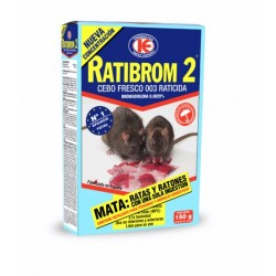 RATICIDA CEBO FRESCO RATIBROM-2 150 GR