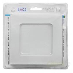 DOWNLIGHT LED EMPOTRAR CUADRADO 6W 600LM - Imagen 1