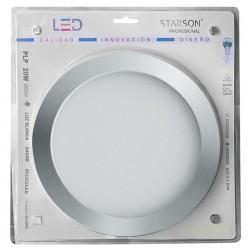 DOWNLIGHT LED EMPOTRAR REDONDO STARSON 20 W 1800 L NIQUEL - Imagen 1