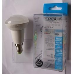 LAMPARA REFLECT.R-50 LEDS 7 W E-14 LUZ FRIA 110206 - Imagen 1