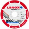DISCO CORTE SEGMENT 115X1,3X22,23MM DIAM METALMAX LENOX - Imagen 1