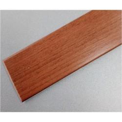 PERFIL PVC PLAQUETA PLANO ADHESIVO CEREZO 35MMX1MT - Imagen 1