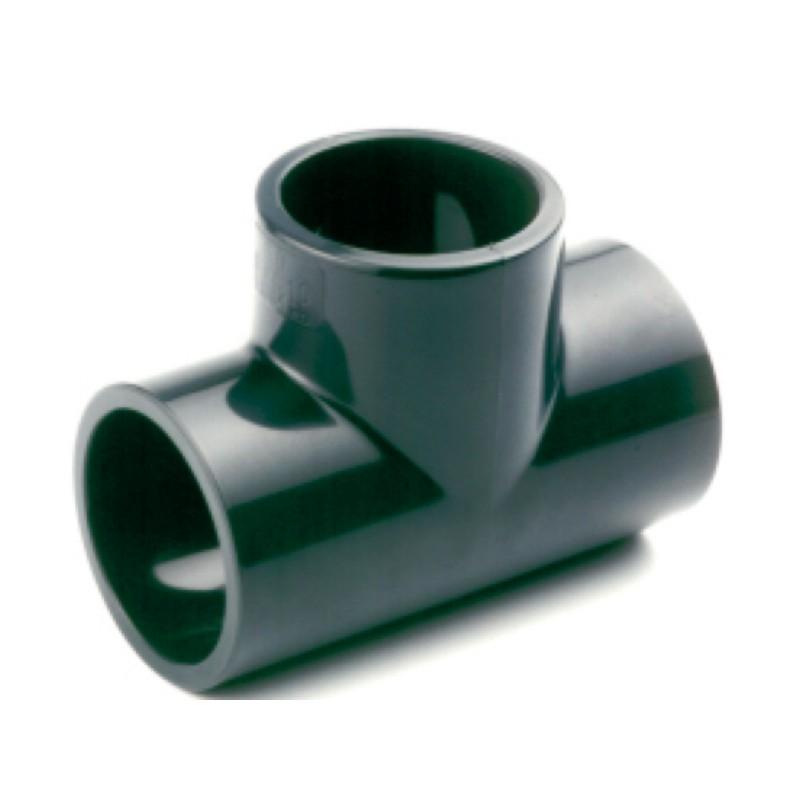 TE PVC PRESION 16BAR ENCOLAR H Ø 63 - Imagen 1