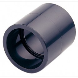 MANGUITO PVC PRESION 16BAR ENCOLAR H-H Ø 63