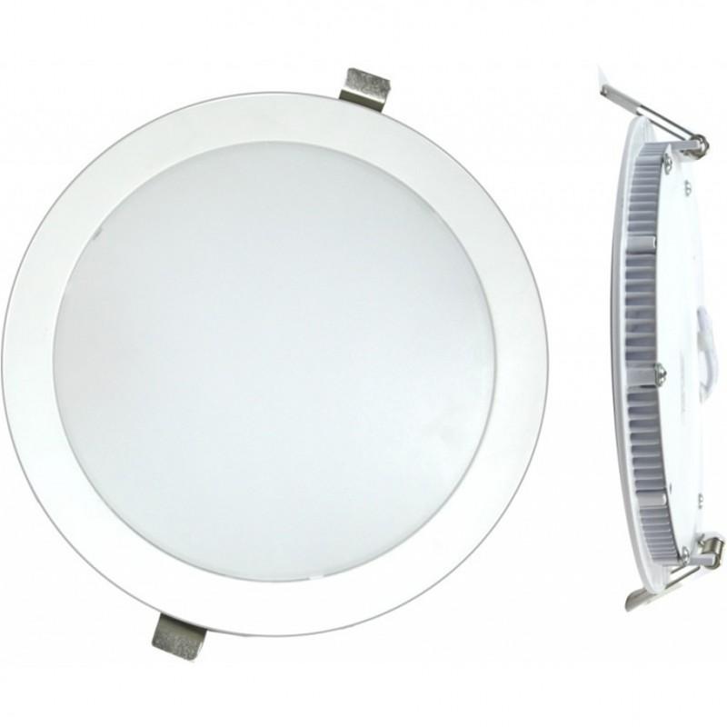 DOWNLIGHT LED EMPOTRAR PLANO BLANCO-6000K 18W - Imagen 1