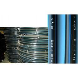 TUBO ALIMENT. 32X025MT 10BAR PLASEX POLI - Imagen 1