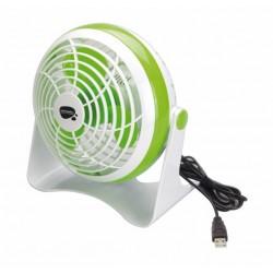 VENTILADOR SOBREM 15CM USB PL BL/VE VIVA - Imagen 1