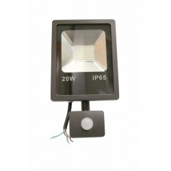 PROYECTOR LED PLANO 20W IP65 1400LM 6000 - Imagen 1