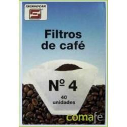 FILTRO CAFE 1X4 (40 UNID.)762 - Imagen 1