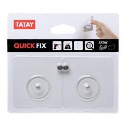 FIJACION KIT MURAL PVC TR. QUICK&FIX TATAY - Imagen 1