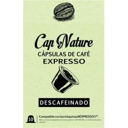 CAPSULA CAFE EXPRESSO DESCAFEINADO 10UND - Imagen 1