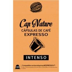 CAPSULA CAFÉ EXPRESSO INTENSO 10UNDS - Imagen 1