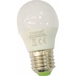 LAMPARA ESFERICA LED 4,5 W E-27 LUZ FRIA 095930 - Imagen 1
