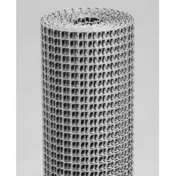 MALLA PLASTICO 9 X 9 MM PLATA - Imagen 1