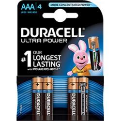 PILA  ALCALINA LR03 AAA 1,5V ULTRA POWER - Imagen 1