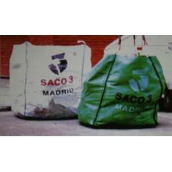 SACO ESCOMBROS CON RECOGIDA - Imagen 1