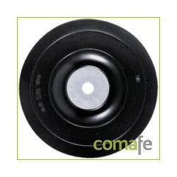 PLATO SOPORTE DE GOMA 125MM PARA AMOLADORA DT3611-QZ PIRANHA - Imagen 1