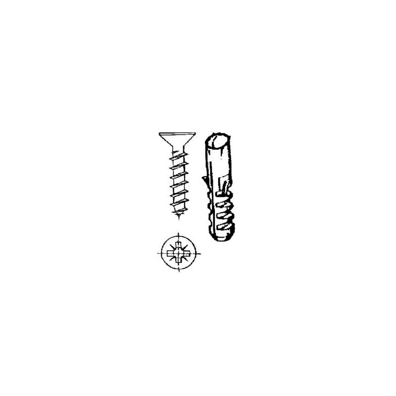 TORNILLO R/MAD. 04,5X30MM 6MM CINC NIVEL 18 PZ - Imagen 1