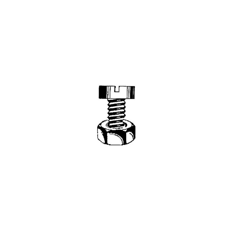 TORNILLO R/METR. 84 06X40MM M6 CINC NIVEL 8 PZ - Imagen 1