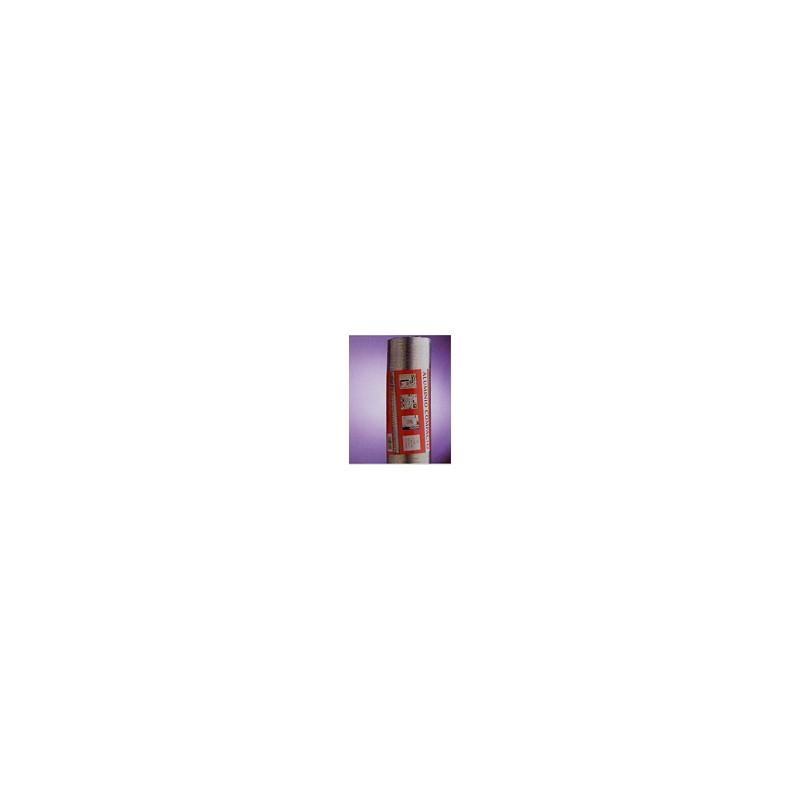 TUBO RETRACTIL 120/2 MT BLANCO ALUMINIO - Imagen 1