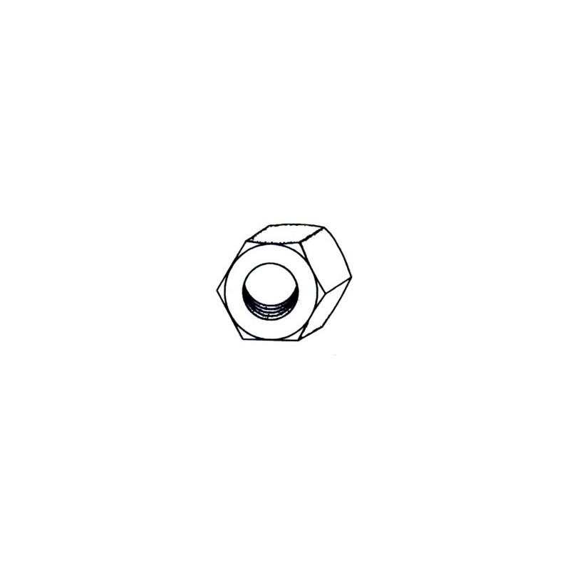 TUERCA HEXAG. 934 M10 CINC NIVEL 6 PZ - Imagen 1