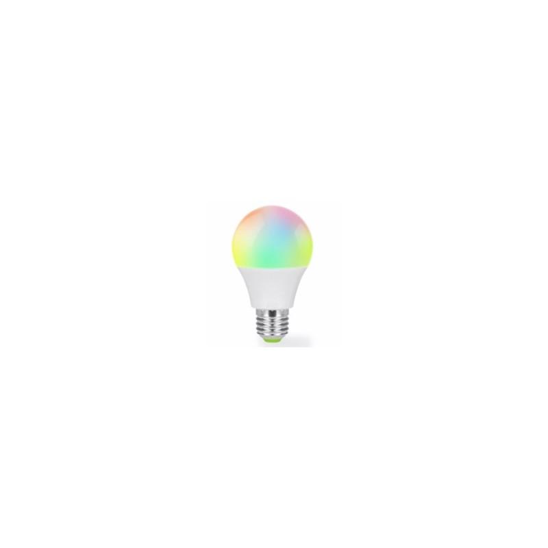 LAMPARA WIFI CAMBIA COLOR E27 5W 600LM MUVIT IO - Imagen 1