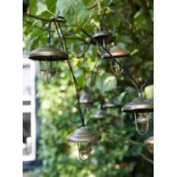LAMPARA JARD 3,8M GUIRN. LUXFORM MET LANZAROTE IL971410 - Imagen 1