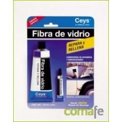 MASILLA REPARADORA FIBRA VIDRIO 100+6ML. 505002 CEYS - Imagen 1