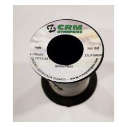 ESTAÑO SOLD RESINA 100GR-2MM 40%60% CRM - Imagen 1