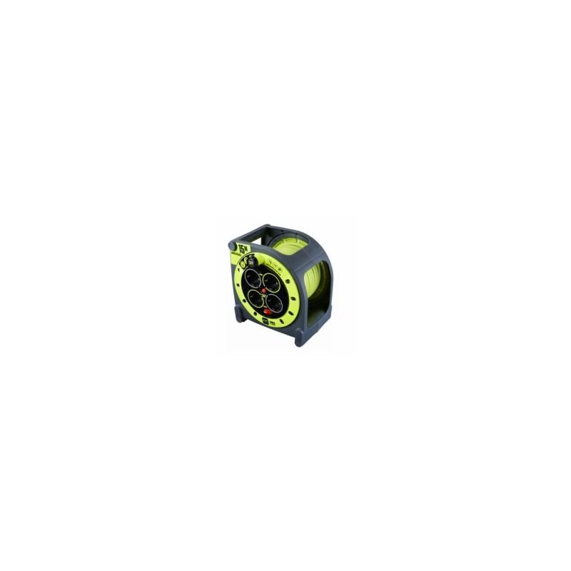 ENROLLACABLE 3X1,5MM 15MT  3680V 230V IP55 4T-TT TERM. INTER - Imagen 1