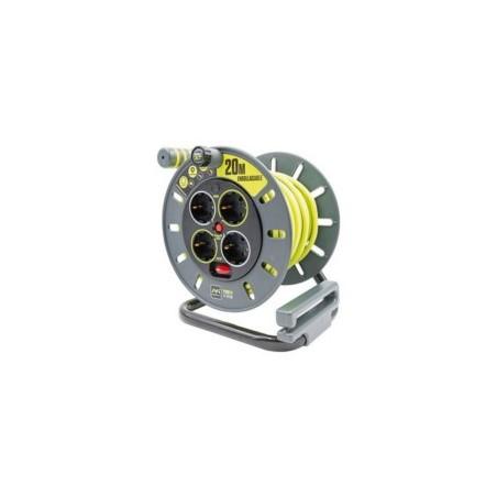 ENROLLACABLE 3X1,5MM 20MT  3680V 230V IP55 4T-TT TERM. INTER - Imagen 1