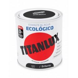 ESMALTE ACRIL BRI. 250 ML NE AL AGUA ECOLOGICO TITANLUX