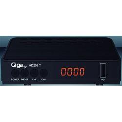 RECEPTOR TV TDT T2 HDMI EUROCONECTOR NE GIGA TV 0 - Imagen 1