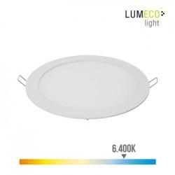 FOCO ILUMIN 20W 1500LM 6400K Ø20CM DOWNLIGHT EDM ALU/PLAST B - Imagen 1