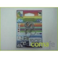 CADENA BOLAS 25 CM CROMADO - Imagen 1